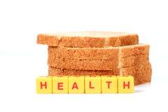 Healthy multigrain bread Stock Photos
