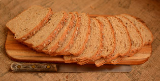 Healthy multigrain bread. Royalty Free Stock Images