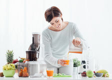 Healthy natural drink stock photo