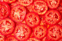 Healthy natural food, background. Tomatoes Stock Photo