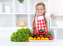 Healthy nutrition base - the vegetables Royalty Free Stock Photo