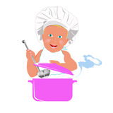 Chef Child Royalty Free Stock Photos