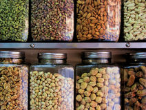 Healthy Nuts and Dried Fruits Royalty Free Stock Photos