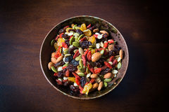 Healthy nuts mix. ,so many nuts stock images