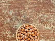 Healthy nuts nutrition background stock photography