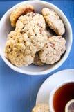 Healthy oat cookies Stock Images
