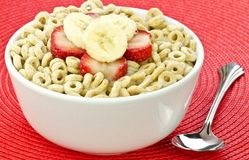 Healthy oat creal Royalty Free Stock Photo