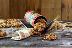 Healthy Oatmeal cookies Royalty Free Stock Photo