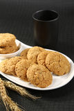 Healthy Oatmeal Cookies Royalty Free Stock Photos