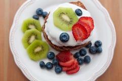 Healthy Oatmeal Pancakes Royalty Free Stock Photo