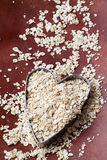 Healthy oats Stock Photo