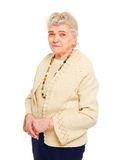 Healthy old woman Royalty Free Stock Photos
