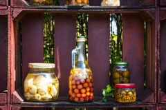Healthy omemade preserves Stock Image
