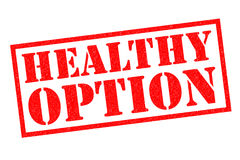 HEALTHY OPTION Royalty Free Stock Images