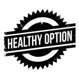Healthy option stamp Stock Photos