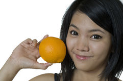 Healthy Orange Royalty Free Stock Image