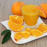 Healthy Orange Drink Stock Photography