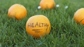 Healthy orange Stock Photos