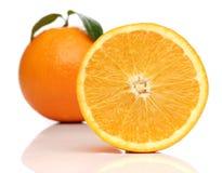 Healthy orange isolated Royalty Free Stock Image