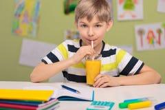 Healthy orange juice Royalty Free Stock Images