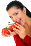 Healthy Organic Eating royalty free stock images