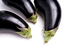 Healthy Organic Eggplant, purple Stock Images