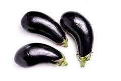 Healthy Organic Eggplant, purple Royalty Free Stock Image