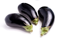 Healthy Organic Eggplant, purple Royalty Free Stock Photo