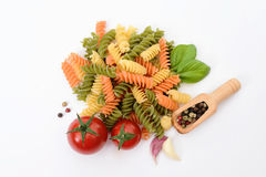 Healthy organic  food background with various vegetables ingredi Royalty Free Stock Photography
