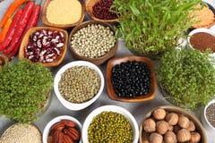 Healthy organic food stock photography