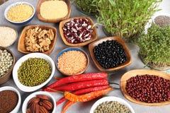 Healthy organic food stock photos