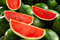 Healthy Organic Food. Watermelon Slices. Nutrition, Vitamins. Fr Stock Photography