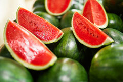 Healthy Organic Food. Watermelon Slices. Nutrition, Vitamins. Fr Stock Images