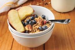 Healthy organic granola Stock Photos