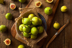 Healthy Organic Green Figs Royalty Free Stock Images