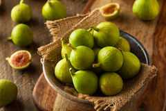 Healthy Organic Green Figs Royalty Free Stock Photography
