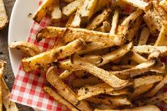 Healthy Organic Jicama Fries Royalty Free Stock Image