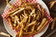 Healthy Organic Jicama Fries Stock Images