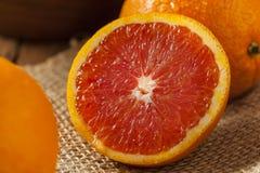 Healthy Organic Ripe Blood Orange Royalty Free Stock Image