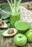 Healthy organic smoothies. Royalty Free Stock Photography