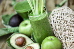 Healthy organic smoothies. Royalty Free Stock Image