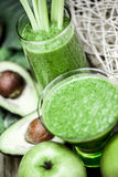 Healthy organic smoothies. Stock Images