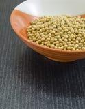 Healthy organic soya beans. Royalty Free Stock Photos
