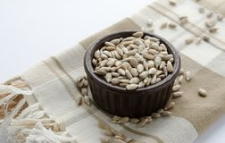 Nutritional Sunflower Seeds Royalty Free Stock Image