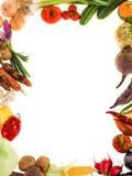 Healthy organic vegetable frame Stock Photos