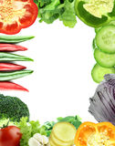 Healthy Organic Vegetables and Fruits Royalty Free Stock Photo
