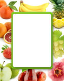 Healthy Organic Vegetables and Fruits Royalty Free Stock Image