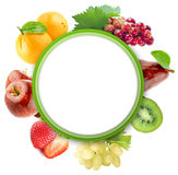 Healthy Organic Vegetables and Fruits Stock Image