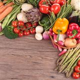 Raw vegetables Royalty Free Stock Images