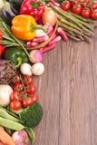 Raw vegetables Royalty Free Stock Photos